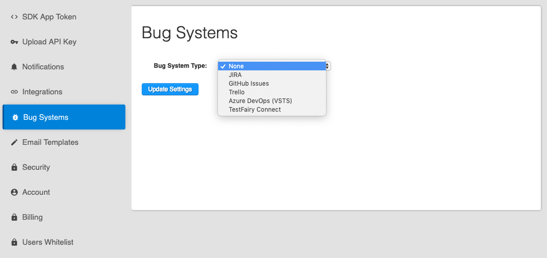 bug systems